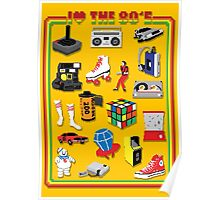 I LOVE THE 80'S Poster