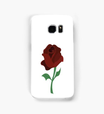 Rose of beauty and the beast Samsung Galaxy Case/Skin