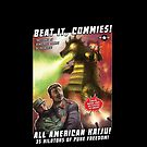 "World War Kaiju ""Beat it Commies!"" Shirt by 01Publishing"