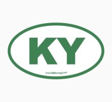 Kentucky KY Euro Oval GREEN by USAswagg