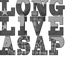 asap rocky by new2pixels