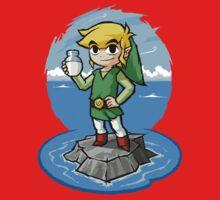 Legend of Zelda Wind Waker Bottle of Milk T-Shirt Kids Clothes