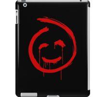 Smiling Red John Icon iPad Case/Skin