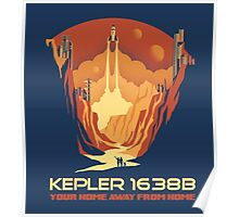 New World - Kepler 1638b Poster