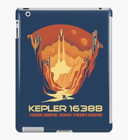 New World - Kepler 1638b iPad Case/Skin