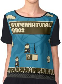 Supernatural Bros. Chiffon Top