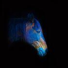 His Quiet Place II - Black Thoroughbred Percheron by Skye Ryan-Evans
