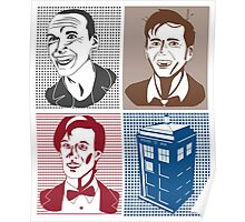 Doctor Who and Tardis Poster