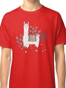 Smug Llama Classic T-Shirt
