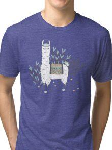 Smug Llama Tri-blend T-Shirt