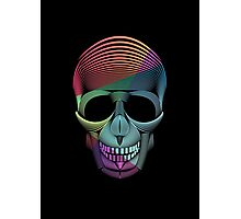 Skool Skull Photographic Print