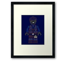Everything is Awesome - Emmet Collage Framed Print