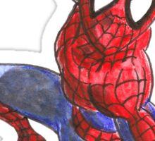 Firefighter Spider-Man Sticker