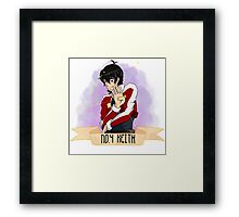 Voltron Ranking Series - Keith Framed Print