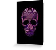 Pinky Skool Skull Greeting Card