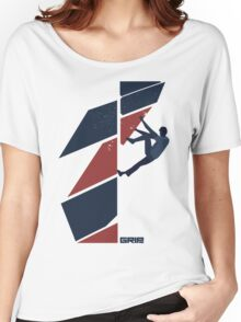 drop knee Women's Relaxed Fit T-Shirt