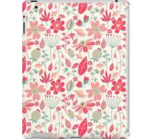 Cute Floral Pattern iPad Case/Skin