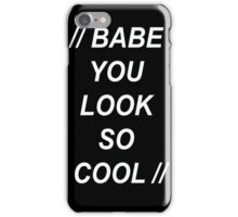 The 1975 Robbers iPhone Case/Skin