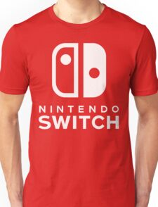 Nintendo Switch Hi-Res Logo Unisex T-Shirt
