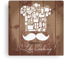 I Like Cooking  Canvas Print