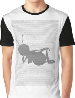 Bee movie script barry benson sleeping silhouette Graphic T-Shirt
