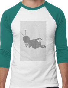Bee movie script barry benson sleeping silhouette Men's Baseball ¾ T-Shirt