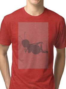 Bee movie script barry benson sleeping silhouette Tri-blend T-Shirt
