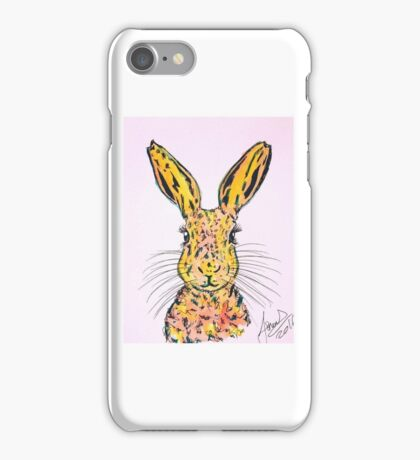 zest the hare iPhone Case/Skin