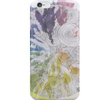 Color Wheel Mandala iPhone Case/Skin
