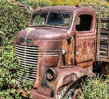 Jerome, Az - Dodge Truck by Candy Gemmill