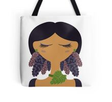 Mulberry character vector illustration Tote Bag