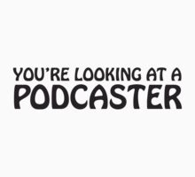 You're looking at a podcaster (black) by solotalkmedia