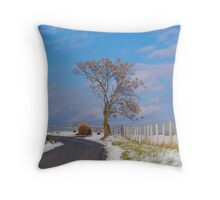 Tree Of Winter Throw Pillow