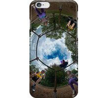 6 Seater Swing - Sky In iPhone Case/Skin