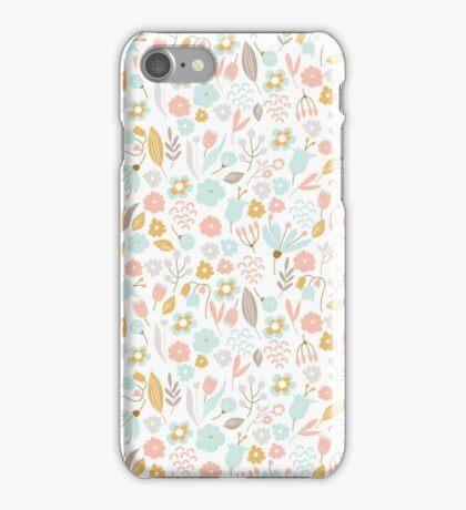 Cute Floral Pattern 2 iPhone Case/Skin