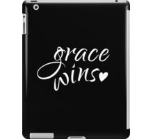 Grace Wins iPad Case/Skin