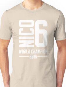 Nico Rosberg world champion 2016 Unisex T-Shirt