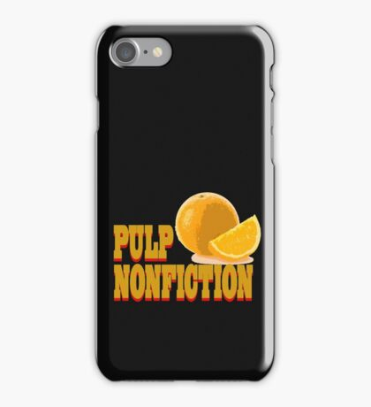 Pulp Nonfiction iPhone Case/Skin