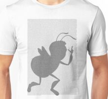 Bee movie script barry benson pose silhouette Unisex T-Shirt