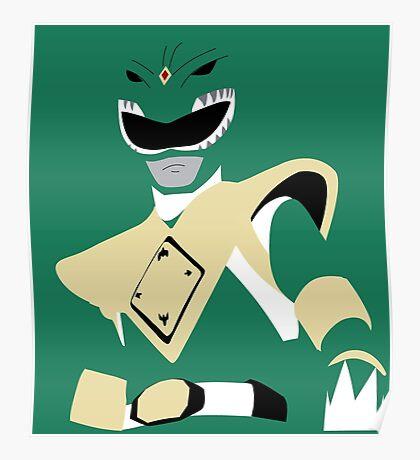 MMPR - Green Ranger Poster