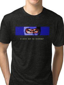 Ninja Revenge on black Tri-blend T-Shirt