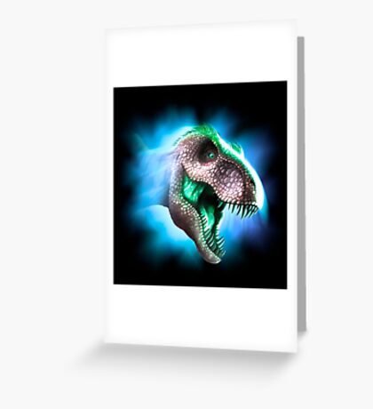 Tyrannosaurus Rex Design 3 Greeting Card