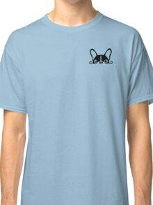 peeking pug | Dogs Classic T-Shirt