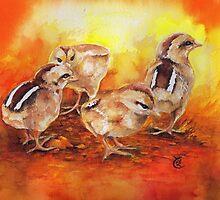 Cheeky Chicks by Sherry Cummings