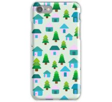 Home in Baby Mint iPhone Case/Skin