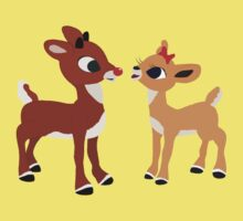 Classic Rudolph and Clarice Kids Tee
