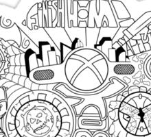 Controller Collage Sticker
