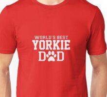 World's Best Yorkie Dad Unisex T-Shirt