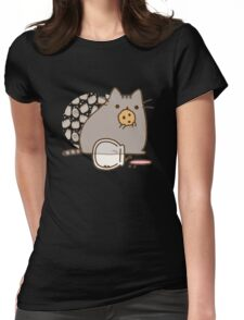 cat cookies Womens Fitted T-Shirt