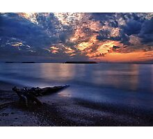 Sunset Sky - Erie, PA Photographic Print